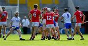 8 June 2019; Players from both teams tussle during the Munster GAA Hurling Senior Championship Round 4 match between Cork and Waterford at Páirc Uí Chaoimh in Cork. Photo by Piaras Ó Mídheach/Sportsfile