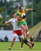 8 June 2019; Michael Murphy of Donegal in action against Pádraig Hampsey of Tyrone during the Ulster GAA Football Senior Championship semi-final match between Donegal and Tyrone at Kingspan Breffni Park in Cavan. Photo by Daire Brennan/Sportsfile