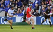 8 June 2019; Seán O'Donoghue of Cork gets away from Jamie Barron of Waterford during the Munster GAA Hurling Senior Championship Round 4 match between Cork and Waterford at Páirc Uí Chaoimh in Cork. Photo by Piaras Ó Mídheach/Sportsfile