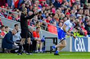 8 June 2019; Michael 'Brick' Walsh of Waterford comes on as a second half substitute during the Munster GAA Hurling Senior Championship Round 4 match between Cork and Waterford at Páirc Uí Chaoimh in Cork. Photo by Piaras Ó Mídheach/Sportsfile