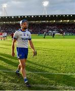 8 June 2019; Michael 'Brick' Walsh of Waterford leaves the field dejected after the Munster GAA Hurling Senior Championship Round 4 match between Cork and Waterford at Páirc Uí Chaoimh in Cork. Photo by Piaras Ó Mídheach/Sportsfile