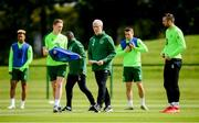 9 June 2019; Republic of Ireland manager Mick McCarthy during a Republic of Ireland training session at the FAI National Training Centre in Abbotstown, Dublin. Photo by Stephen McCarthy/Sportsfile