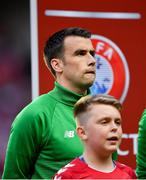 7 June 2019; Seamus Coleman of Republic of Ireland during the UEFA EURO2020 Qualifier Group D match between Denmark and Republic of Ireland at Telia Parken in Copenhagen, Denmark. Photo by Seb Daly/Sportsfile