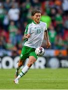 7 June 2019; Jeff Hendrick of Republic of Ireland during the UEFA EURO2020 Qualifier Group D match between Denmark and Republic of Ireland at Telia Parken in Copenhagen, Denmark. Photo by Seb Daly/Sportsfile