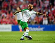 7 June 2019; David McGoldrick of Republic of Ireland during the UEFA EURO2020 Qualifier Group D match between Denmark and Republic of Ireland at Telia Parken in Copenhagen, Denmark. Photo by Seb Daly/Sportsfile