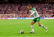 7 June 2019; Conor Hourihane of Republic of Ireland during the UEFA EURO2020 Qualifier Group D match between Denmark and Republic of Ireland at Telia Parken in Copenhagen, Denmark. Photo by Seb Daly/Sportsfile