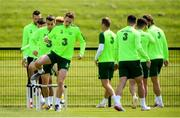 9 June 2019; Ronan Curtis during a Republic of Ireland training session at the FAI National Training Centre in Abbotstown, Dublin. Photo by Stephen McCarthy/Sportsfile