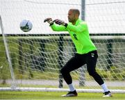 9 June 2019; Darren Randolph during a Republic of Ireland training session at the FAI National Training Centre in Abbotstown, Dublin. Photo by Stephen McCarthy/Sportsfile