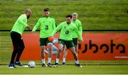 9 June 2019; Greg Cunningham during a Republic of Ireland training session at the FAI National Training Centre in Abbotstown, Dublin. Photo by Stephen McCarthy/Sportsfile