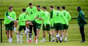 9 June 2019; Conor Hourihane during a Republic of Ireland training session at the FAI National Training Centre in Abbotstown, Dublin. Photo by Stephen McCarthy/Sportsfile