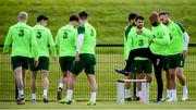 9 June 2019; David McGoldrick during a Republic of Ireland training session at the FAI National Training Centre in Abbotstown, Dublin. Photo by Stephen McCarthy/Sportsfile