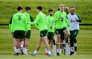 9 June 2019; James McClean during a Republic of Ireland training session at the FAI National Training Centre in Abbotstown, Dublin. Photo by Stephen McCarthy/Sportsfile