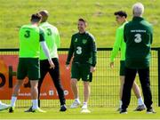 9 June 2019; Republic of Ireland assistant coach Robbie Keane during a Republic of Ireland training session at the FAI National Training Centre in Abbotstown, Dublin. Photo by Stephen McCarthy/Sportsfile