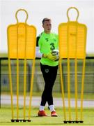 9 June 2019; Sean McDermott during a Republic of Ireland training session at the FAI National Training Centre in Abbotstown, Dublin. Photo by Stephen McCarthy/Sportsfile
