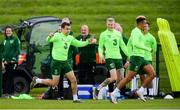 9 June 2019; Seamus Coleman during a Republic of Ireland training session at the FAI National Training Centre in Abbotstown, Dublin. Photo by Stephen McCarthy/Sportsfile