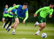 9 June 2019; Callum O'Dowda and Enda Stevens, right, during a Republic of Ireland training session at the FAI National Training Centre in Abbotstown, Dublin. Photo by Stephen McCarthy/Sportsfile