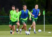9 June 2019; Jeff Hendrick during a Republic of Ireland training session at the FAI National Training Centre in Abbotstown, Dublin. Photo by Stephen McCarthy/Sportsfile