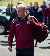 9 June 2019; Galway manager Mícheál Donoghue arrives ahead of the Leinster GAA Hurling Senior Championship Round 4 match between Kilkenny and Galway at Nowlan Park in Kilkenny. Photo by Daire Brennan/Sportsfile