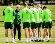 9 June 2019; Republic of Ireland manager Mick McCarthy during a training session at the FAI National Training Centre in Abbotstown, Dublin. Photo by Stephen McCarthy/Sportsfile
