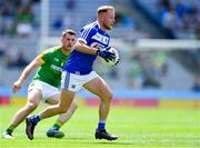 9 June 2019; Damien O'Connor of Laois in action against Donal Keogan of Meath during the Leinster GAA Football Senior Championship Semi-Final match between Meath and Laois at Croke Park in Dublin. Photo by Piaras Ó Mídheach/Sportsfile