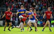 9 June 2019; Kevin McKernan of Down in action against Michael Quinlivan of Tipperary during the GAA Football All-Ireland Senior Championship Round 1 match between Down and Tipperary at Pairc Esler in Newry, Down. Photo by David Fitzgerald/Sportsfile
