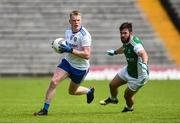 9 June 2019; Ryan McAnespie of Monaghan in action against Kane Connor of Fermanagh during the GAA Football All-Ireland Senior Championship Round 1 match between Monaghan and Fermanagh at St Tiarnach's Park in Clones, Monaghan. Photo by Oliver McVeigh/Sportsfile