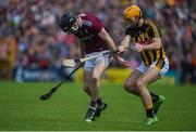 9 June 2019; Padraic Mannion of Galway in action against Colin Fennelly of Kilkenny during the Leinster GAA Hurling Senior Championship Round 4 match between Kilkenny and Galway at Nowlan Park in Kilkenny. Photo by Daire Brennan/Sportsfile