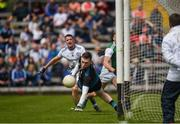 9 June 2019; Rory Beggan of Monaghan in action against during the GAA Football All-Ireland Senior Championship Round 1 match between Monaghan and Fermanagh at St Tiarnach's Park in Clones, Monaghan. Photo by Philip Fitzpatrick/Sportsfile