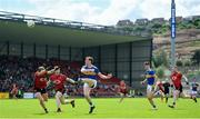 9 June 2019; Conor Sweeney of Tipperary in action against Darren O'Hagan of Down during the GAA Football All-Ireland Senior Championship Round 1 match between Down and Tipperary at Pairc Esler in Newry, Down. Photo by David Fitzgerald/Sportsfile