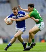 9 June 2019; Paul Kingston of Laois in action against Séamus Lavin of Meath during the Leinster GAA Football Senior Championship Semi-Final match between Meath and Laois at Croke Park in Dublin. Photo by Piaras Ó Mídheach/Sportsfile