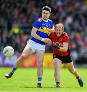 9 June 2019; Darren O'Hagan of Down in action against Michael Quinlivan of Tipperary during the GAA Football All-Ireland Senior Championship Round 1 match between Down and Tipperary at Pairc Esler in Newry, Down. Photo by David Fitzgerald/Sportsfile