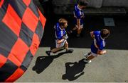 9 June 2019; Tipperary players make their way out for the second half during the GAA Football All-Ireland Senior Championship Round 1 match between Down and Tipperary at Pairc Esler in Newry, Down. Photo by David Fitzgerald/Sportsfile