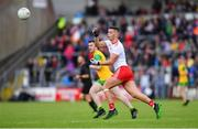 8 June 2019; Michael McKernan of Tyrone during the Ulster GAA Football Senior Championship semi-final match between Donegal and Tyrone at Kingspan Breffni Park in Cavan. Photo by Ramsey Cardy/Sportsfile
