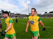 8 June 2019; Ryan McHugh, left, and Michael Murphy of Donegal following the Ulster GAA Football Senior Championship semi-final match between Donegal and Tyrone at Kingspan Breffni Park in Cavan. Photo by Ramsey Cardy/Sportsfile