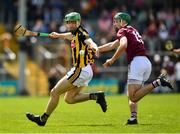 9 June 2019; Tommy Walsh of Kilkenny in action against Brian Concannon of Galway during the Leinster GAA Hurling Senior Championship Round 4 match between Kilkenny and Galway at Nowlan Park in Kilkenny. Photo by Ray McManus/Sportsfile