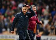 9 June 2019; Galway manager Micheál Donoghue after the Leinster GAA Hurling Senior Championship Round 4 match between Kilkenny and Galway at Nowlan Park in Kilkenny. Photo by Ray McManus/Sportsfile