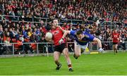 9 June 2019; Cory Quinn of Down in action against Alan Campbell of Tipperary during the GAA Football All-Ireland Senior Championship Round 1 match between Down and Tipperary at Pairc Esler in Newry, Down. Photo by David Fitzgerald/Sportsfile