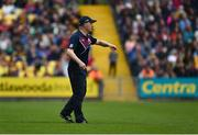 9 June 2019; Galway manager Mícheál Donoghue issues instructions during the Leinster GAA Hurling Senior Championship Round 4 match between Kilkenny and Galway at Nowlan Park in Kilkenny. Photo by Daire Brennan/Sportsfile