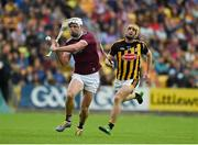 9 June 2019; Gearoid McInerney of Galway in action against Colin Fennelly of Kilkenny during the Leinster GAA Hurling Senior Championship Round 4 match between Kilkenny and Galway at Nowlan Park in Kilkenny. Photo by Daire Brennan/Sportsfile