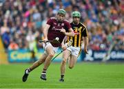 9 June 2019; Brian Concannon of Galway in action against Tommy Walsh of Kilkenny during the Leinster GAA Hurling Senior Championship Round 4 match between Kilkenny and Galway at Nowlan Park in Kilkenny. Photo by Daire Brennan/Sportsfile