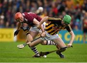 9 June 2019; Joey Holden of Kilkenny in action against Conor Whelan of Galway during the Leinster GAA Hurling Senior Championship Round 4 match between Kilkenny and Galway at Nowlan Park in Kilkenny. Photo by Daire Brennan/Sportsfile