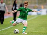 9 June 2019; Connor Ronan of Republic of Ireland in action during the 2019 Maurice Revello Toulon Tournament match between Bahrain and Republic of Ireland at Stade Jules Ladoumègue in Vitrolles, France. Photo by Alexandre Dimou/Sportsfile