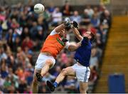 9 June 2019; Aidan Forker of Armagh in action against Martin Reilly of Cavan during the Ulster GAA Football Senior Championship Semi-Final Replay match between Cavan and Armagh at St Tiarnach's Park in Clones, Monaghan. Photo by Oliver McVeigh/Sportsfile