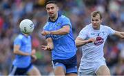 9 June 2019; James McCarthy of Kildare in action against Peter Kelly of Kildare during the Leinster GAA Football Senior Championship Semi-Final match between Dublin and Kildare at Croke Park in Dublin. Photo by Piaras Ó Mídheach/Sportsfile