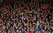 9 June 2019; Supporters of both sides, amongst the 15,778 in attendance, watch from the Paddy Grace stand during the Leinster GAA Hurling Senior Championship Round 4 match between Kilkenny and Galway at Nowlan Park in Kilkenny. Photo by Ray McManus/Sportsfile