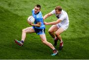 9 June 2019; Con O'Callaghan of Dublin in action against Peter Kelly of Kildare during the Leinster GAA Football Senior Championship semi-final match between Dublin and Kildare at Croke Park in Dublin. Photo by Stephen McCarthy/Sportsfile