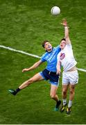 9 June 2019; Chris Healy of Kildare in action against Michael Fitzsimons of Dublin during the Leinster GAA Football Senior Championship semi-final match between Dublin and Kildare at Croke Park in Dublin. Photo by Stephen McCarthy/Sportsfile