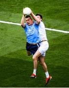 9 June 2019; Con O'Callaghan of Dublin in action against Mick O'Grady of Kildare during the Leinster GAA Football Senior Championship semi-final match between Dublin and Kildare at Croke Park in Dublin. Photo by Stephen McCarthy/Sportsfile