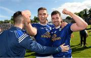 9 June 2019; Killian Clarke and Niall Murray of Cavan celebrates after the Ulster GAA Football Senior Championship Semi-Final Replay match between Cavan and Armagh at St Tiarnach's Park in Clones, Monaghan. Photo by Oliver McVeigh/Sportsfile