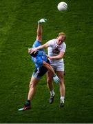 9 June 2019; Keith Cribbin of Kildare in action against Brian Howard of Dublin during the Leinster GAA Football Senior Championship semi-final match between Dublin and Kildare at Croke Park in Dublin. Photo by Stephen McCarthy/Sportsfile